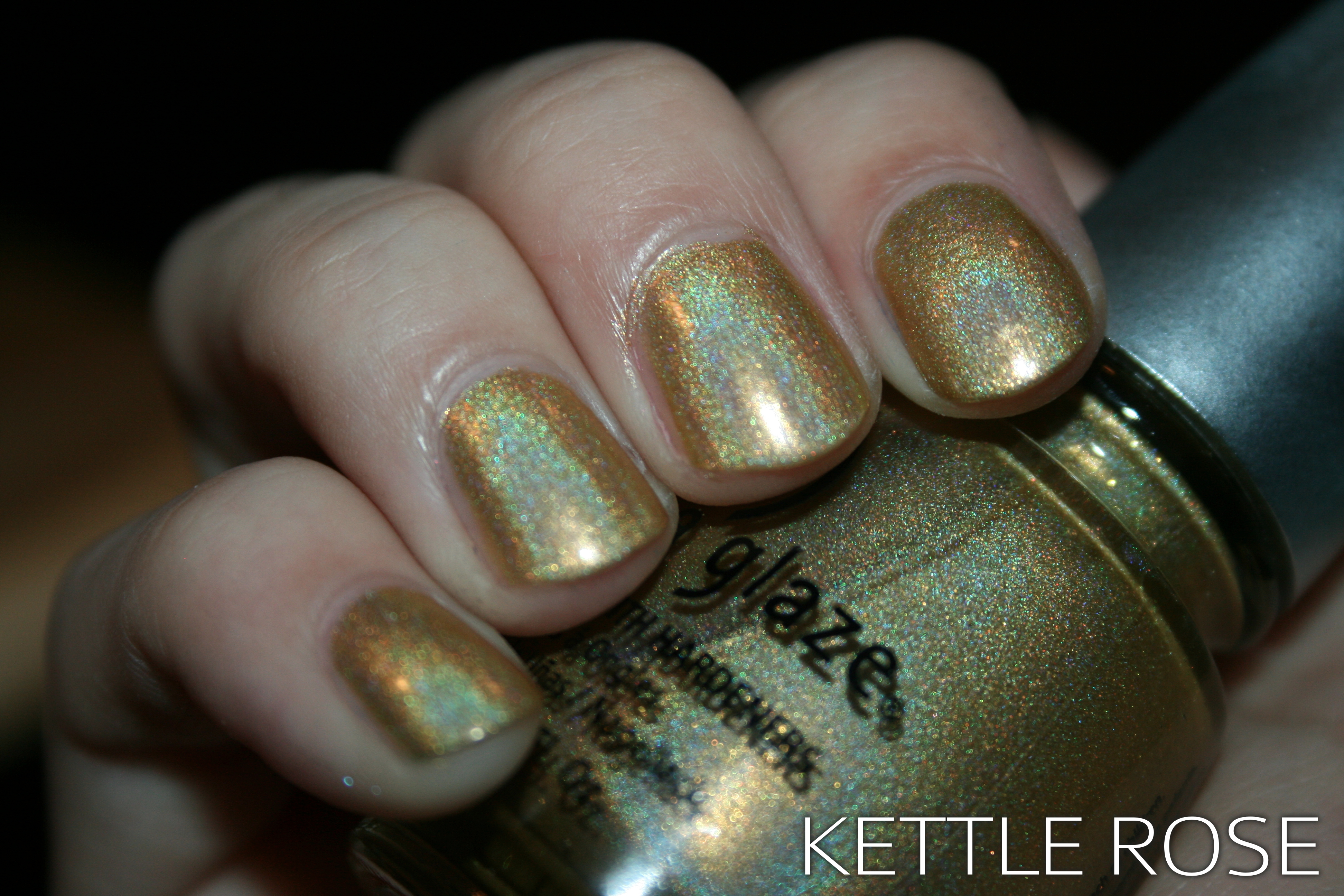 Holographic Roundup: China Glaze GR8   Swatches, Photos, and